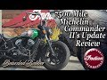 7500 Mile Michelin Commander 2 Update / Review on the Indian Scout Bobber