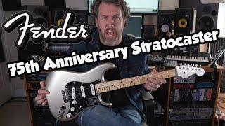 NEW - Fender 75th Anniversary Stratocaster - Diamond Anniversary - 2021
