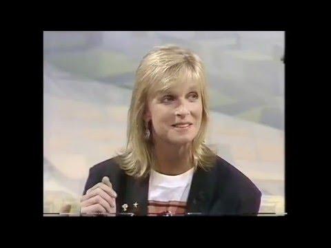 Linda McCartney on 'Wogan' - 1989.