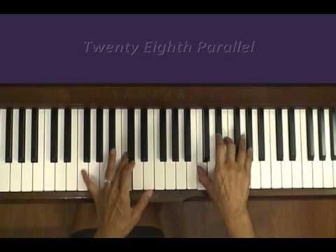 Vangelis Twenty Eighth Parallel Piano Tutorial at Tempo