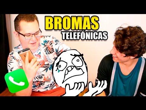 BROMA TELEFÓNICA a @studiofalcony y @morfosaurio