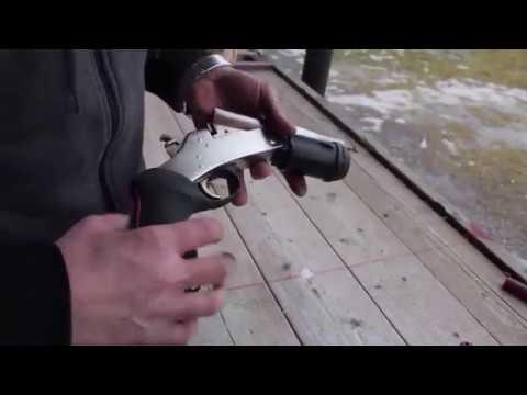 Rossi 12 gauge shotgun pistol demonstration