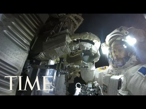 Thumbnail: Astronaut Captures Stunning GoPro Footage During Spacewalk | TIME