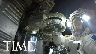 Astronaut Captures Stunning GoPro Footage During Spacewalk | TIME