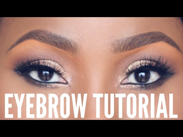 How To Draw A Perfect Eyebrow With Pencil Or Eyeshadow Video