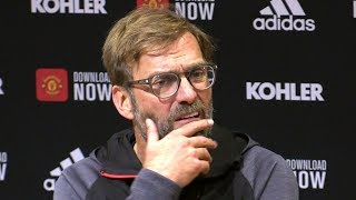 Man Utd 1-1 Liverpool - Jurgen Klopp Full Post Match Press Conference - Premier League