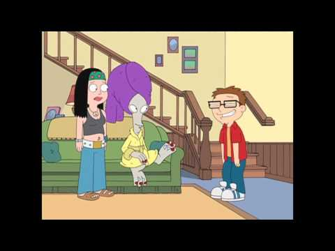 American Dad Steve Comes Home Drunk (uncensored)
