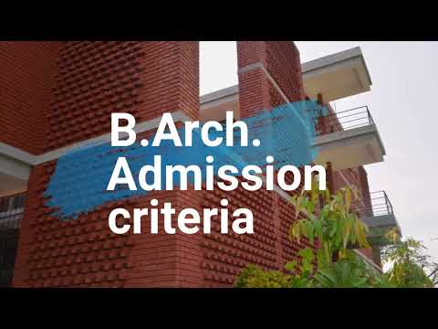 B Arch complete information