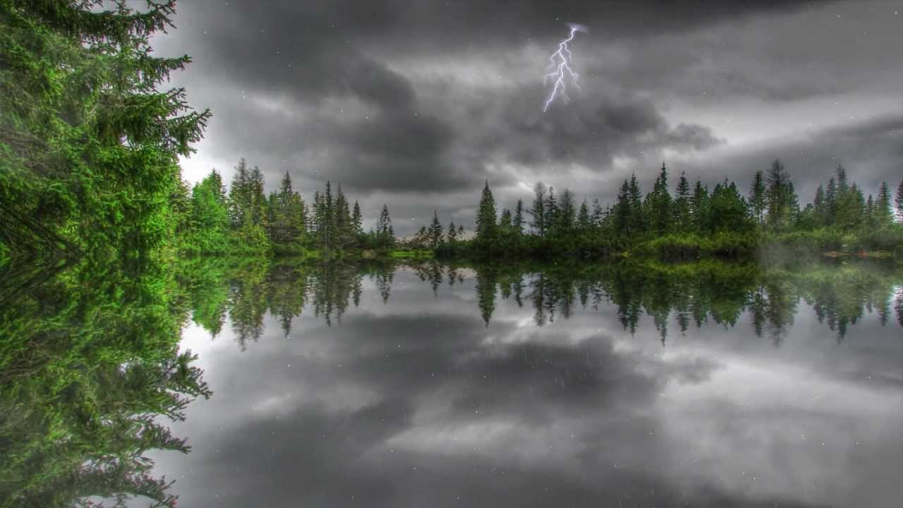 Animated Desktop Wallpaper Free Download For Windows 8 Amazing Thunderstorm Animated Wallpaper Http Www