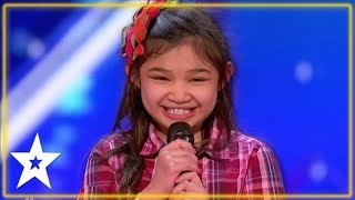 Angelica Hale 1st Audition on America's Got Talent | Kids Got Talent