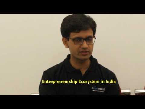 Budding Entrepreneurs interact with Mr. Vineet Patawari-CEO, Kredent Academy and Elearnmarkets.com