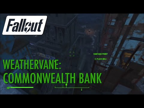 Fallout 4 - Weathervane: Commonwealth Bank