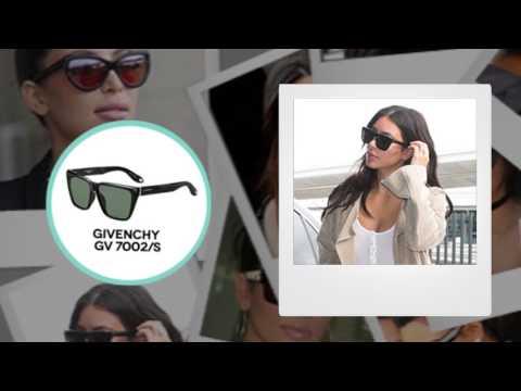 Lentes de sol Kim Kardashian - Looks de famosas | LentesWorld