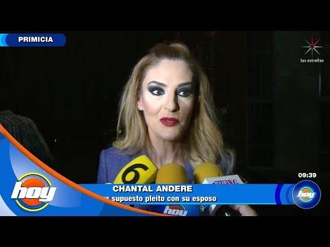 ¡Chantal Andere confiesa si sufrió agresiones de su esposo! | Hoy