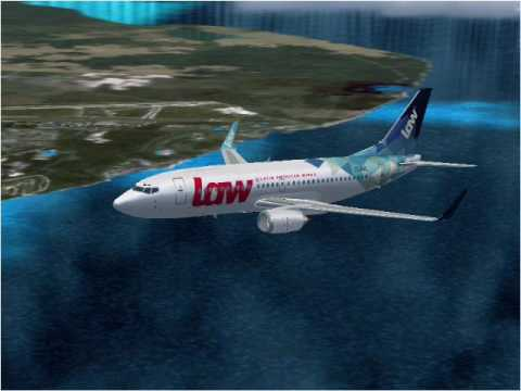 Latin American Wings Boeing 737-300 (FS2004)