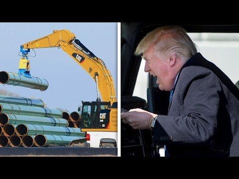 Trump Hitting The Gas On Keystone XL Pipeline