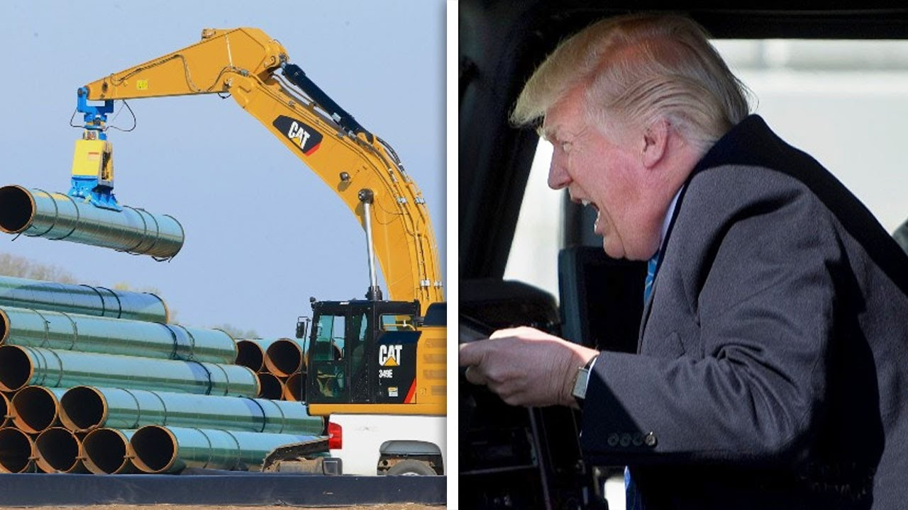 Trump Hitting The Gas On Keystone XL Pipeline