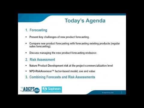 New Product Forecasting and Risk Assessment YouTube – Product Risk Assessment