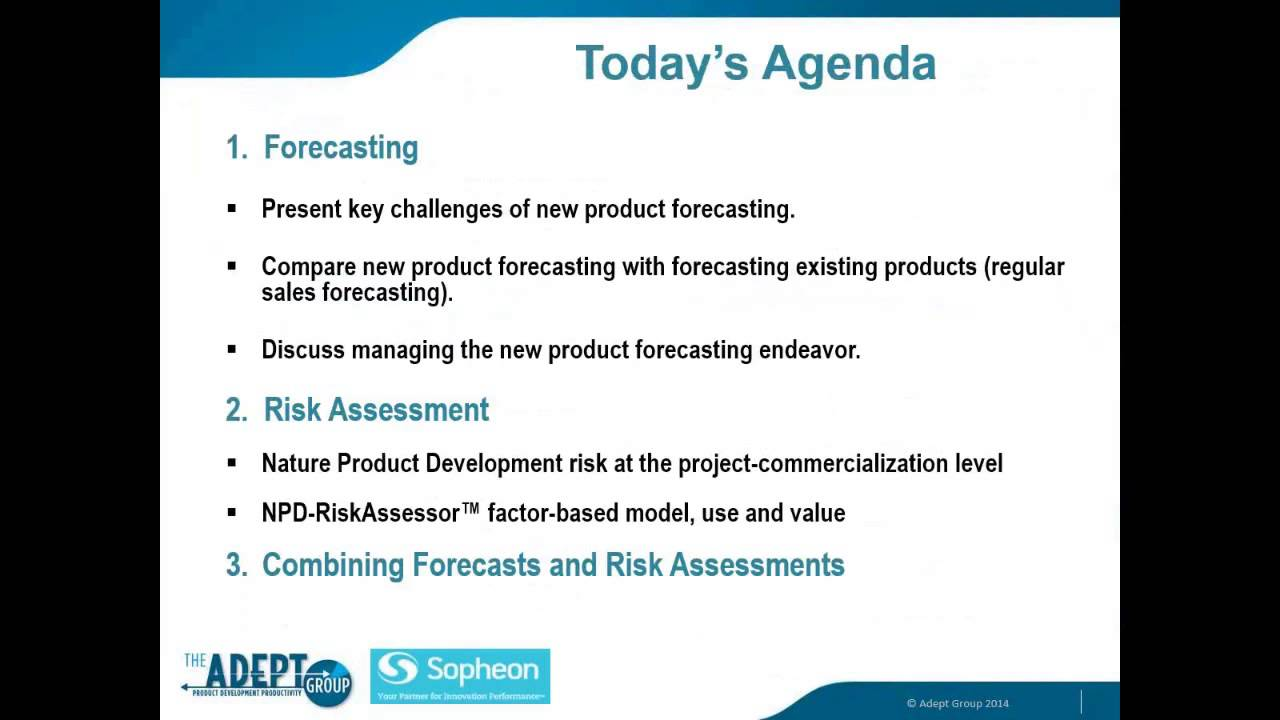 New Product Forecasting and Risk Assessment - YouTube