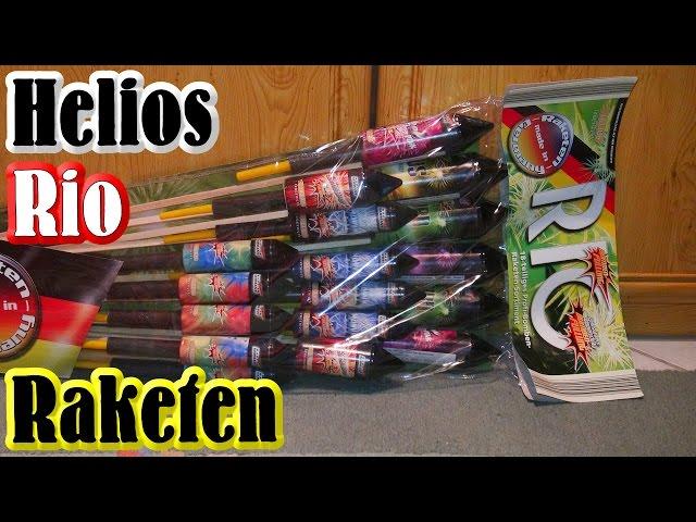 Helios (Weco) Rio Raketenpack - Aldi Süd Feuerwerk [Full HD]