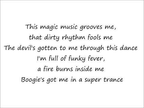 Blame It On The Boogie - Jackson 5 ( Lyrics )