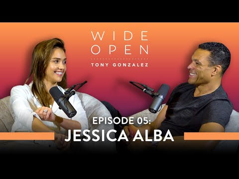 Jessica Alba On How To Start Living Your Damn Life | Wide Open With Tony Gonzalez