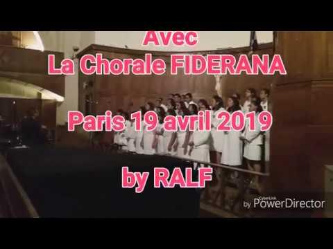 Vendredi Saint avec la Chorale FIDERANA
