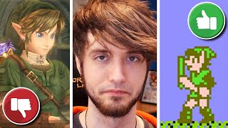 The Worst Ever Top 10 Zelda Games List - PBG