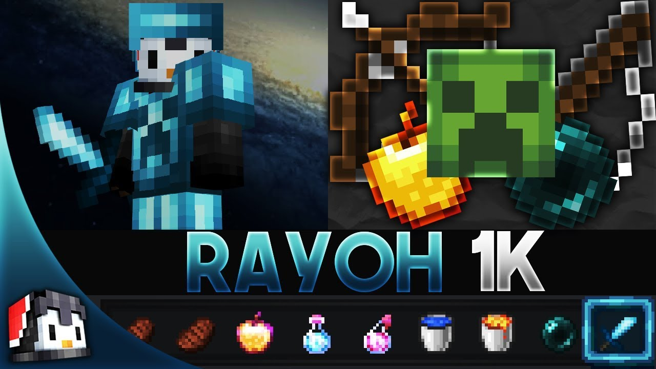 Rayoh 1K 16x MCPE PvP Texture Pack (FPS Friendly) by Rayoh - YouTube