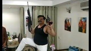 Watch: BJP MLA Pranav Singh Champion seen dancing with guns in a viral video
