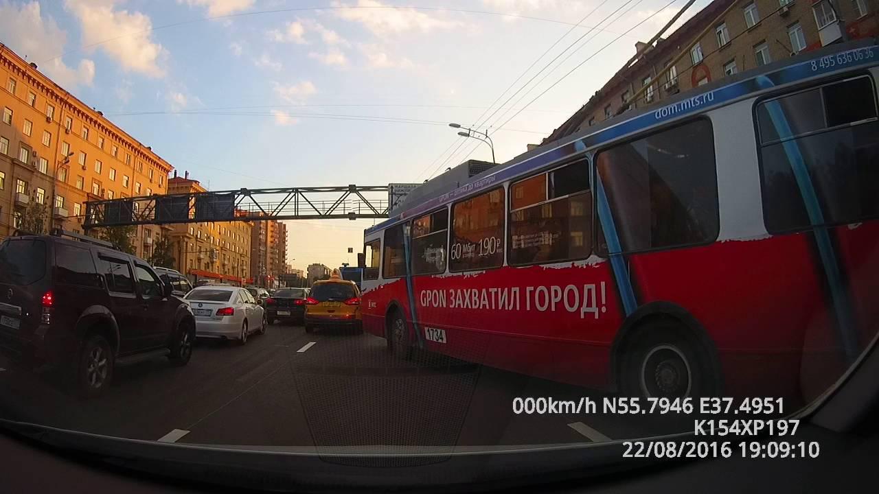 ДТП в Минске на пл. Бангалор 26.10.2016