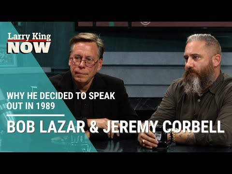 UFO Whistleblower Bob Lazar Explains Why He Decided to Speak Out in 1989
