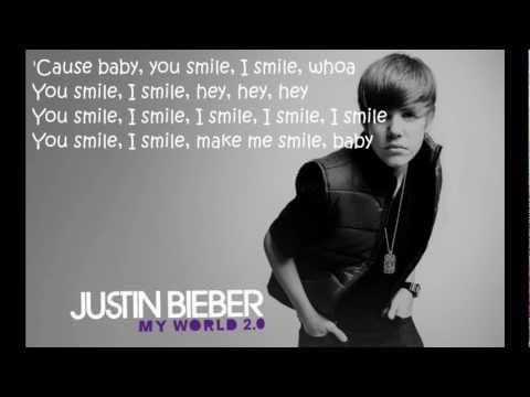U Smile - Justin Bieber (Lyrics)