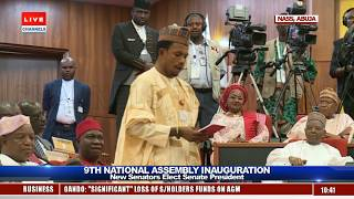9th National Assembly Inauguration Pt.3
