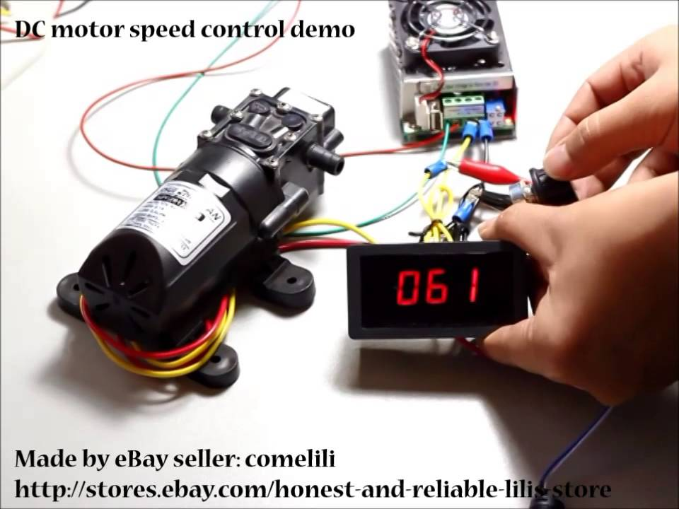 Dc 6 30v 8a Motor Pwm Speed Control With Digital Display