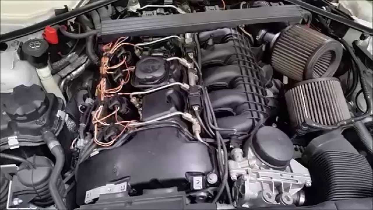 How to change your spark plugs on a BMW 335i, 135i (E90