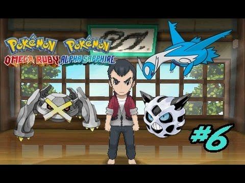 Pokemon Omega Ruby Nuzzlocke 6 Vs Norman Latios Como