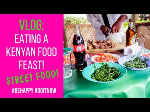 Vlog: Eating A Kenyan Meal Ruaka Town #food #adventure #africa #travel