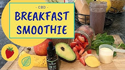CBD Breakfast Smoothie