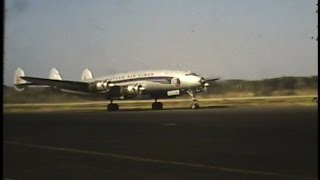 EASTERN AIRLINES LOCKHEED CONSTELLATION 1956, CHARLOTTE, DOUGLAS INTERNATIONAL AIRPORT