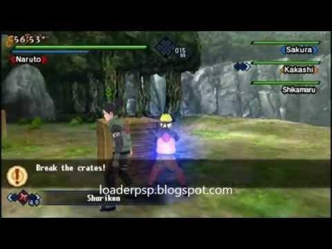 download game naruto kizuna drive psp emuparadise