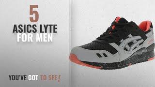 Топ-10 Asics в лайт [2018 ]: Asics чоловіча гель-тих Lyte III чорний/світло-сірий щиколотки-високі шкіряні кросівки