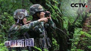 [中国新闻] 边防旅:穿越原始丛林 巡逻中越边境线 | CCTV中文国际
