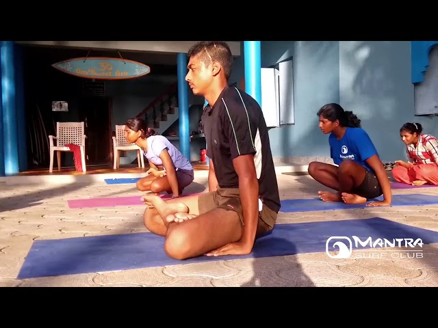 Yoga at Mantra Surf Club