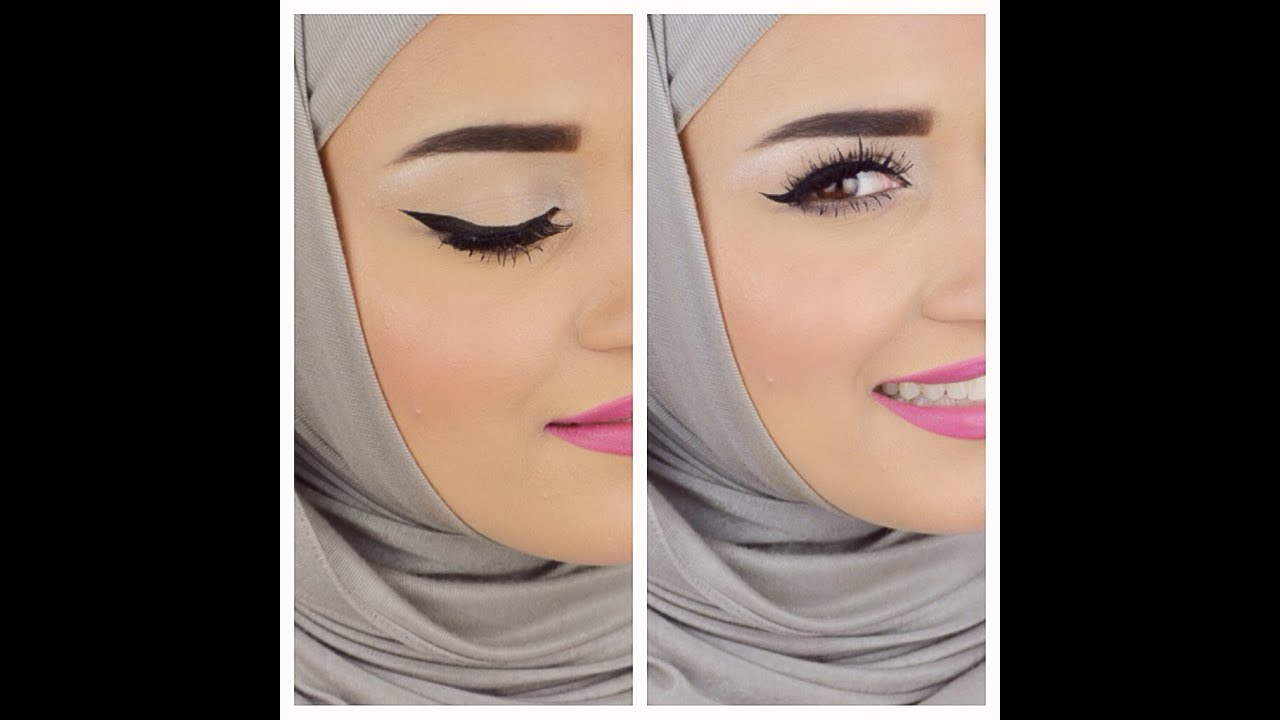 Eyebrows & Eyeliner tutorial  كيفية رسم الحواجب