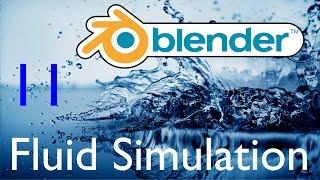 Blender урок. Симуляция жидкости. 11 - Частицы