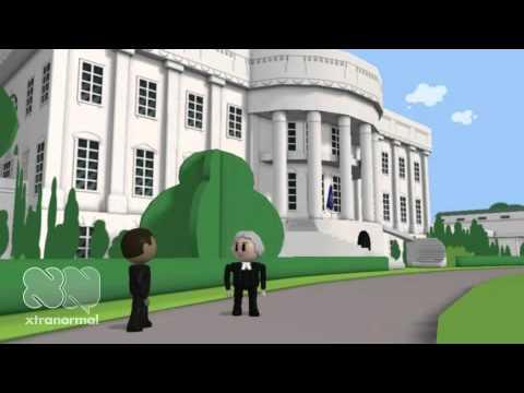 Barrack Obama interviews Thomas Jefferson