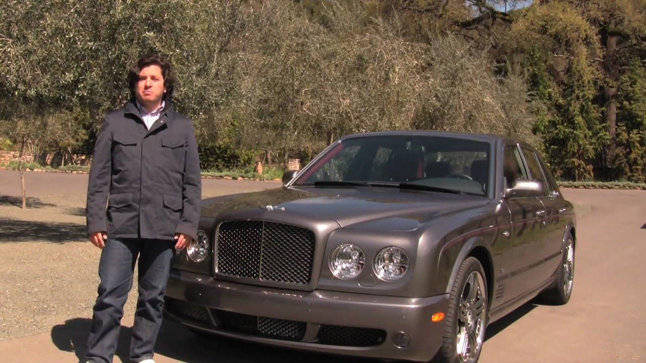 2009 bentley arnage t video review youtube vanachro Choice Image