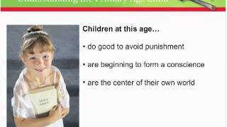 Primary Age Children - Section 3a: Understanding The Primary Age Child