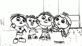 Super WHY! Theme Song ~ Remix Effects Design Pencil Drawing ✅✅
